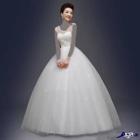 مدل زیبای لباس عروس