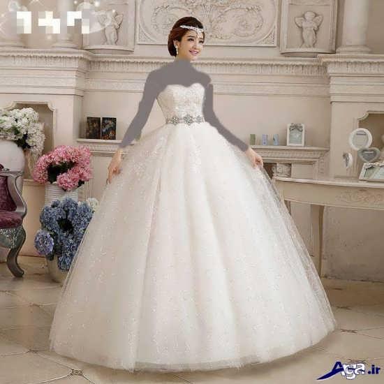 زیباترین مدل لباس عروس کره ای