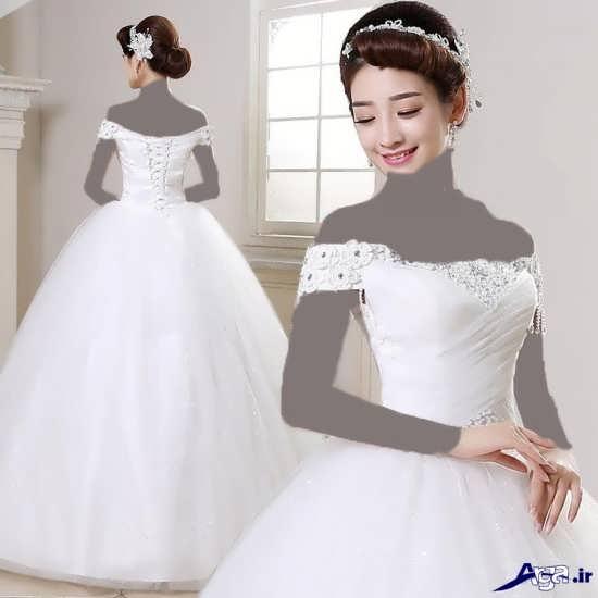 لباس عروس جدید کره ای