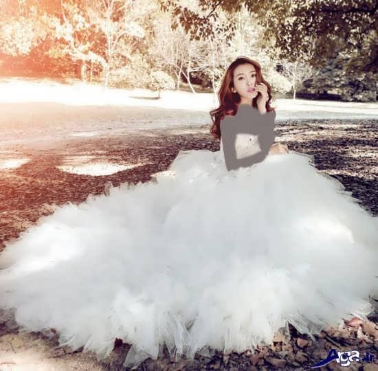 مدل لباس عروس کره ای شیک و جدید