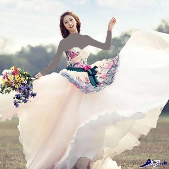 لباس عروس فانتزی کره ای