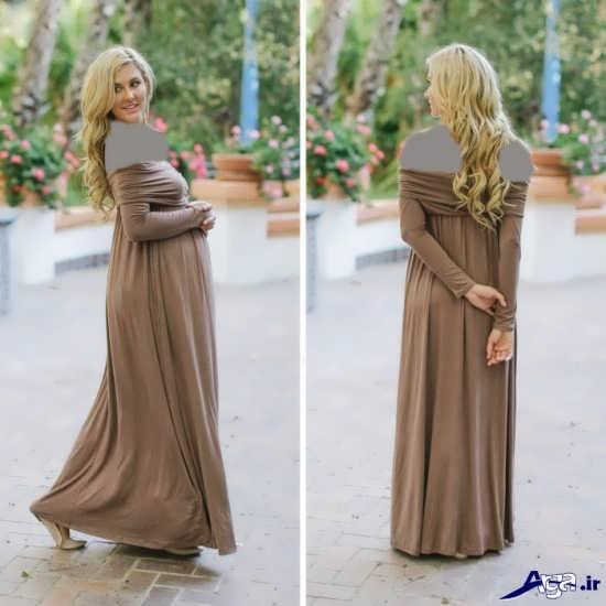 لباس مجلسی بارداری زیبا