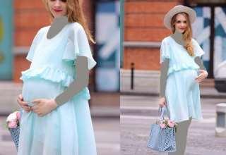 زیباترین مدل لباس مجلسی حاملگی