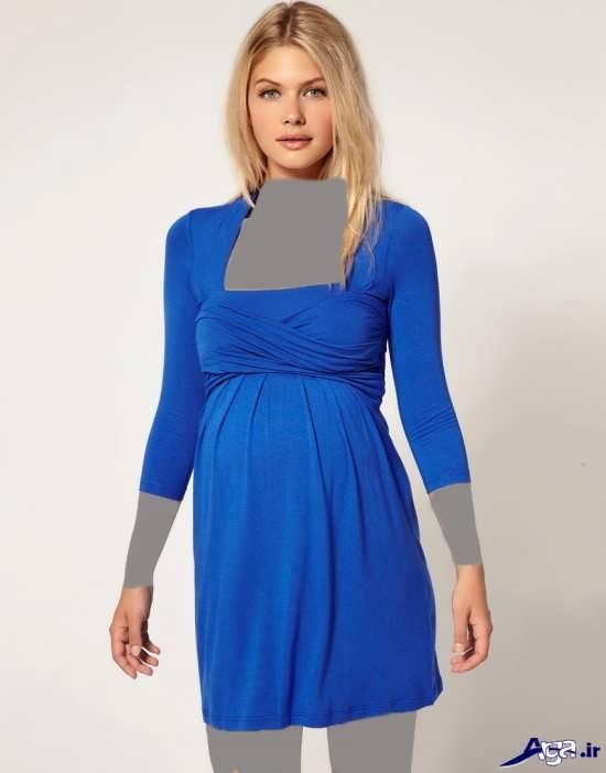 مدل لباس مجلسی حاملگی شیک و جدید