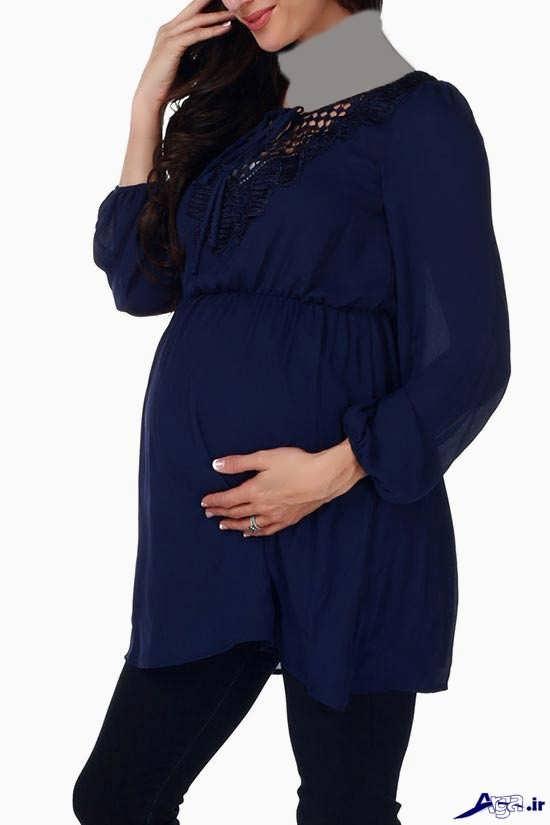 مدل لباس مجلسی شیک بارداری