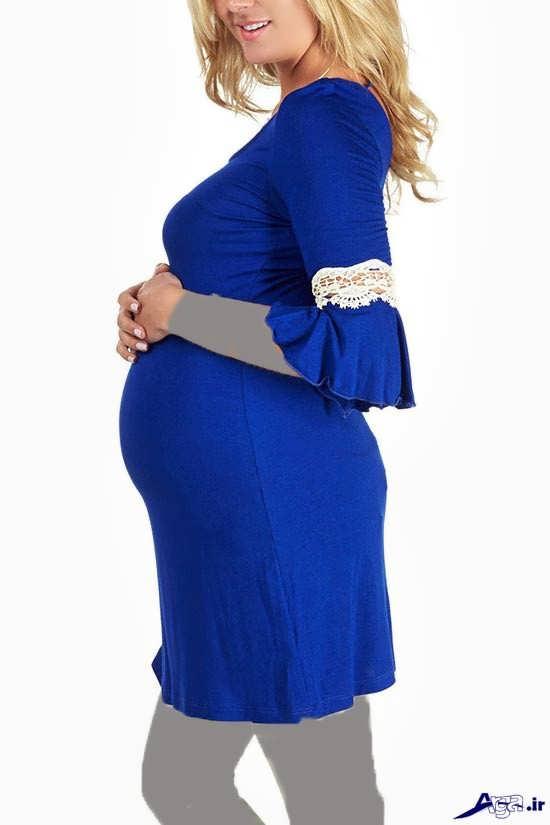 لباس مجلسی زیبای بارداری