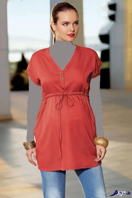 مدل لباس حاملگی مجلسی