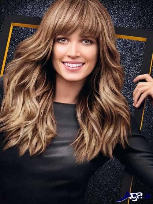 مدل موی چتری زیبا