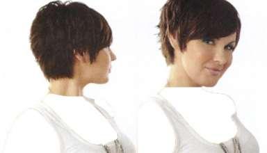 تصاویر انواع نمونه های مدل کوتاهی جلوی مو