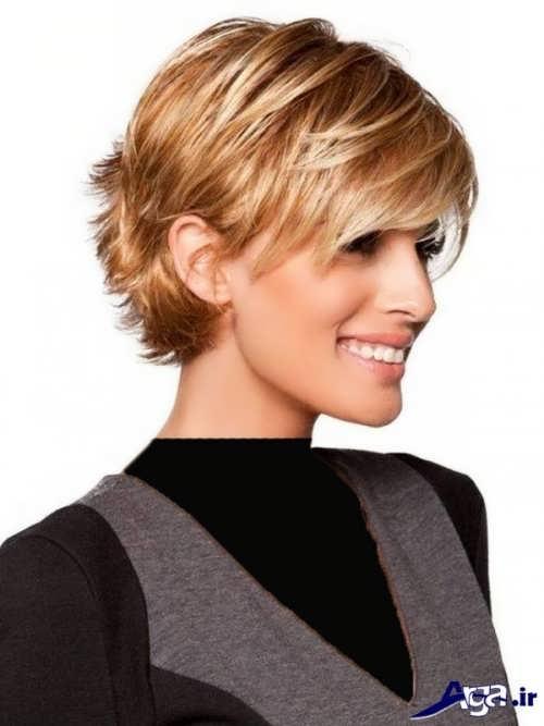 مدل موی کوتاه