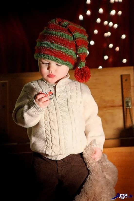 انواع لباس بافتنی بچگانه پسرانه