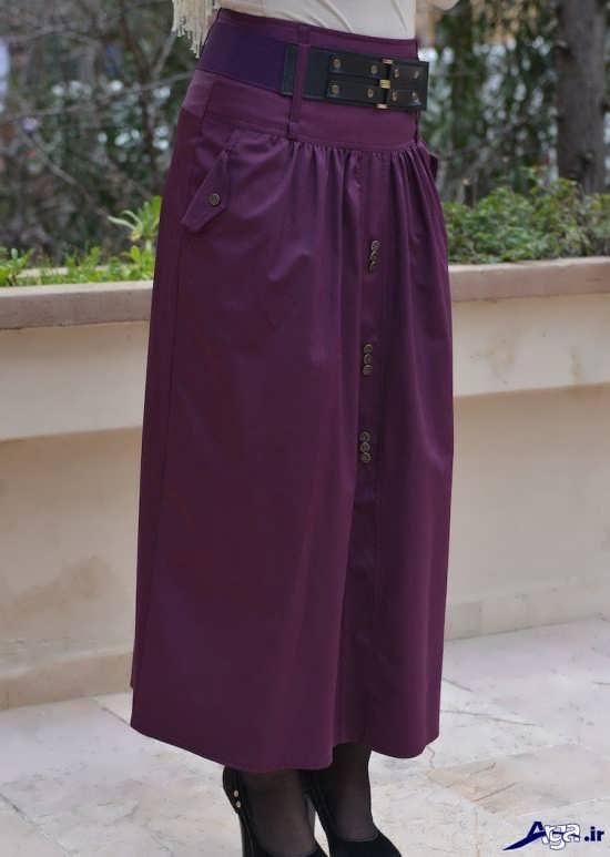 مدل دامن های بلند زنانه