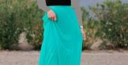 مدل دامن های بلند مجلسی دخترانه و زنانه مخصوص باکلاس ها