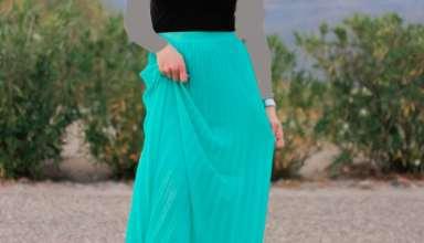 زیباترین مدل دامن بلند مجلسی