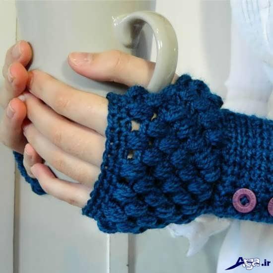 مدل دستکش جدید بافتنی