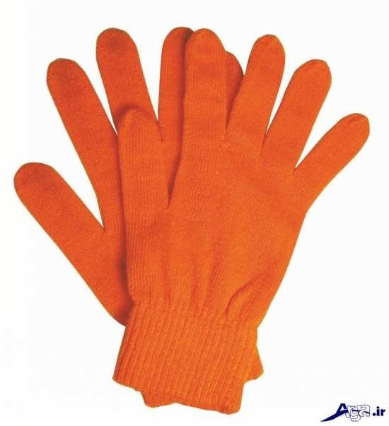 دستکش های زیبای بافتنی