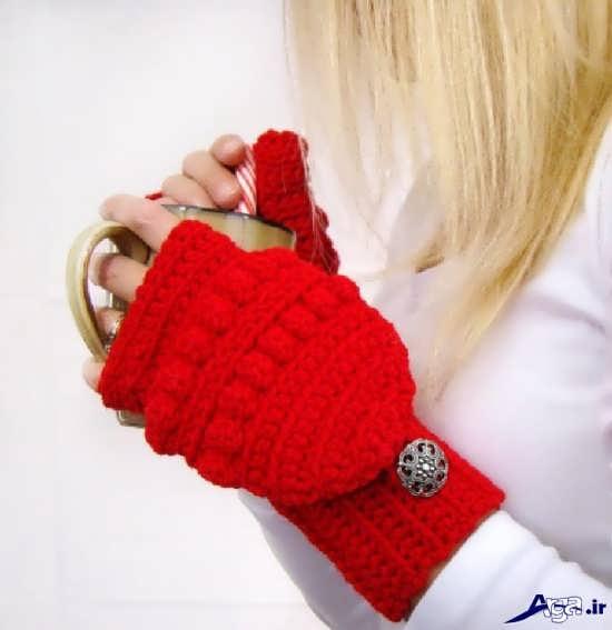 مدل دستکش های بافتنی زیبا