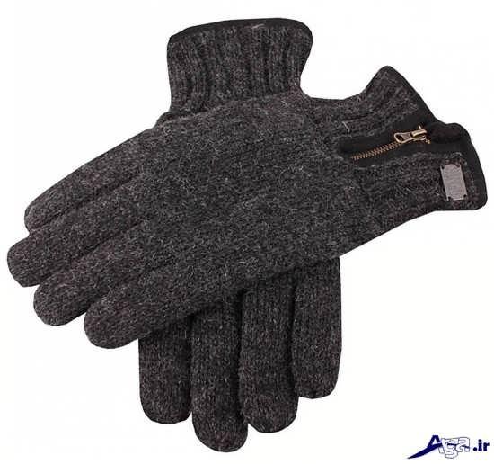 مدل دستکش بافتنی مردانه