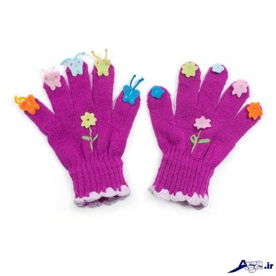 دستکش بافتنی بچگانه
