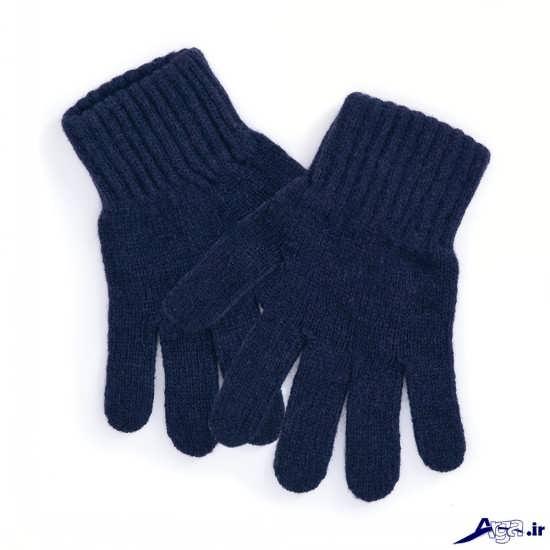 دستکش های بافتنی مردانه