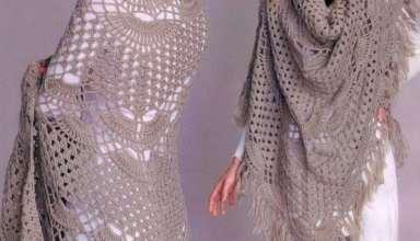 شیک ترین و زیباترین مدل اشارپ های بافتنی