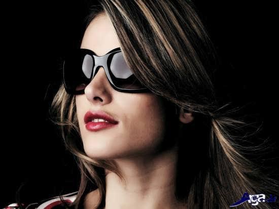 انواع عینک آفتابی دخترانه بسیار زیبا