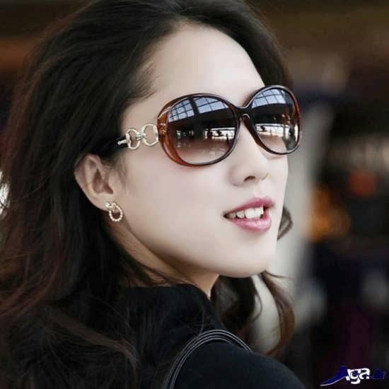 عینک آفتابی دخترانه بسیار زیبا