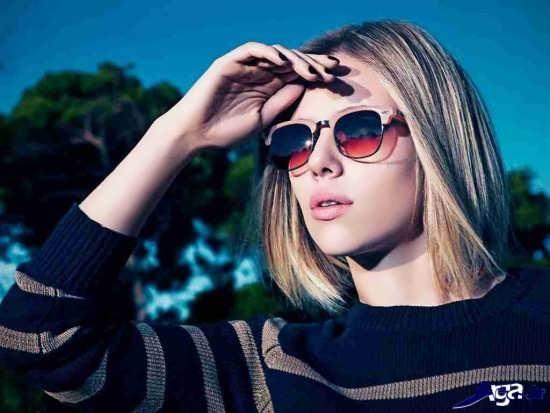 عینک آفتابی زیبا و جدید دخترانه