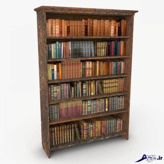 انواع قفسه های ساده کتاب