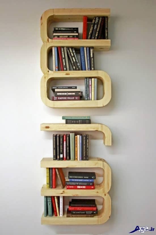 انواع مدل قفسه کتاب جالب و زیبا