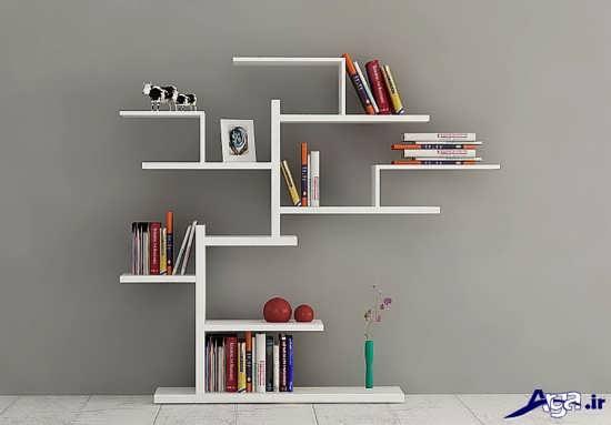 انواع قفسه کتاب مدرن
