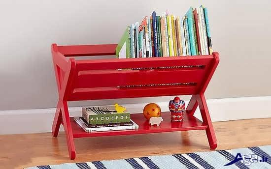 زیباترین قفسه کتاب کودک