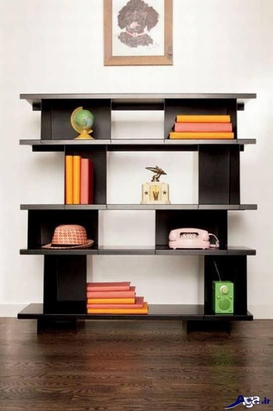 زیباترین انواع مدل قفسه کتاب