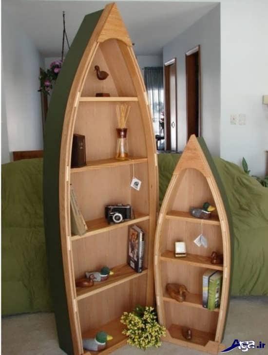 قفسه کتاب زیبا و خلاقانه