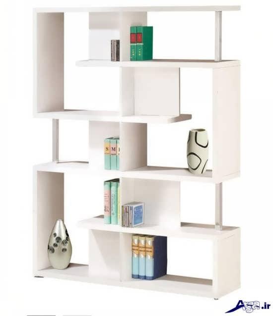 قفسه کتاب شیک و مدرن