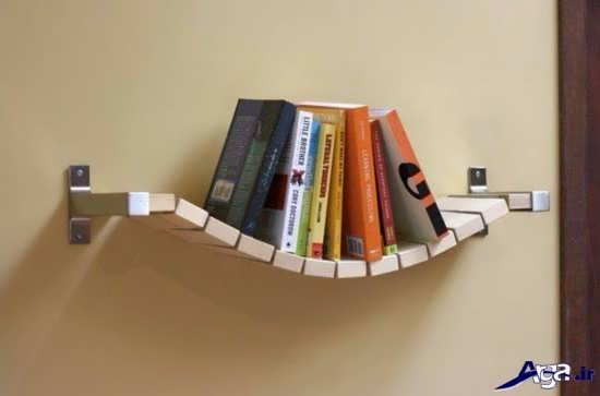 انواع قفسه کتاب مدرن و زیبا
