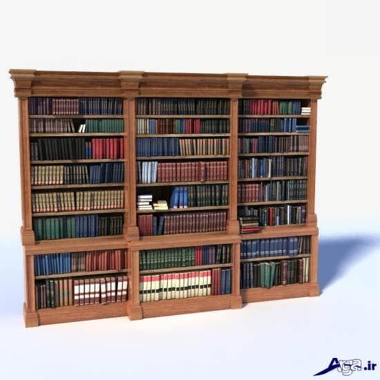 انواع قفسه کتاب بزرگ
