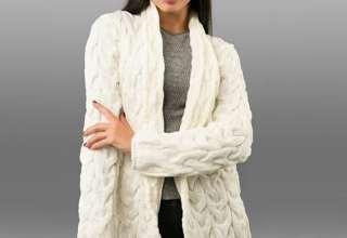 مدل ژاکت بافتنی زنانه شیک و جذاب