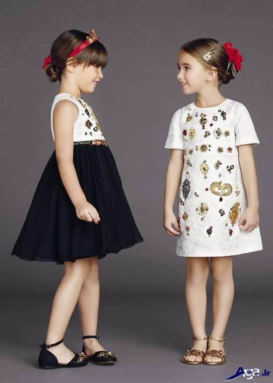 انواع لباس بچگانه دخترانه