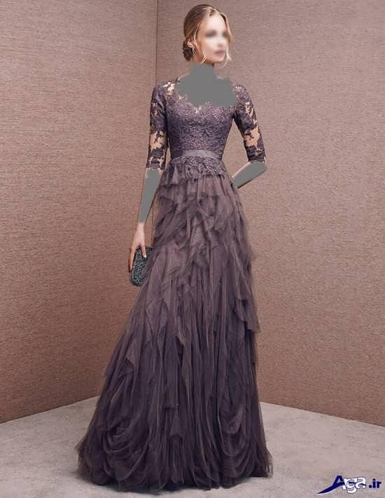 انواع مدل لباس شب مجلسی دخترانه