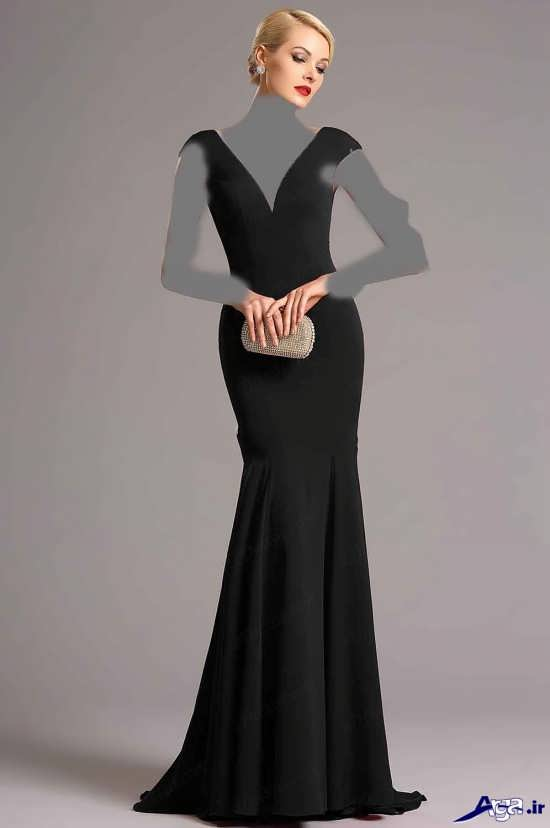 انواع لباس مجلسی بلند زنانه