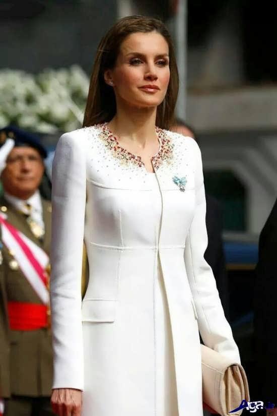 مدل مانتو کتی سفید زنانه
