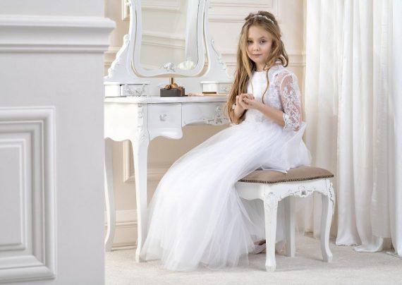 مدل لباس عروس بچه گانه زیبا