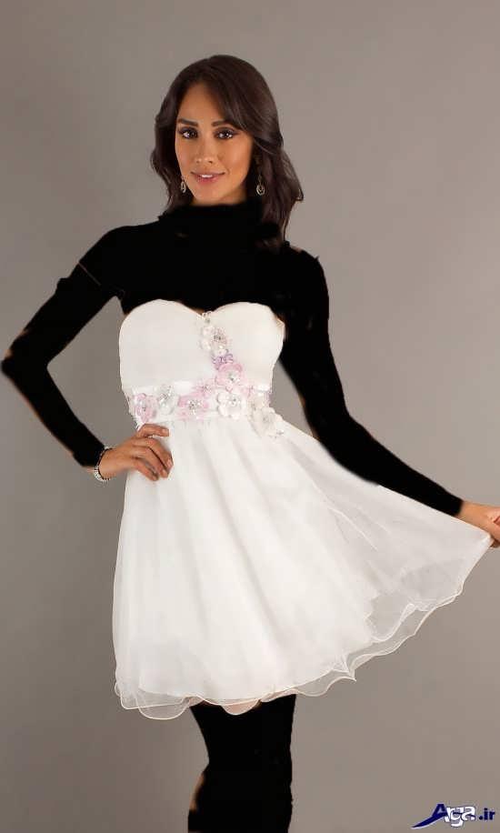 انواع پیراهن های کوتاه زنانه مجلسی