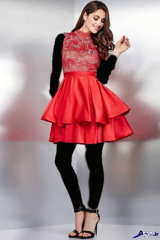 انواع مدل های زیبای لباس کوتاه مجلسی زنانه
