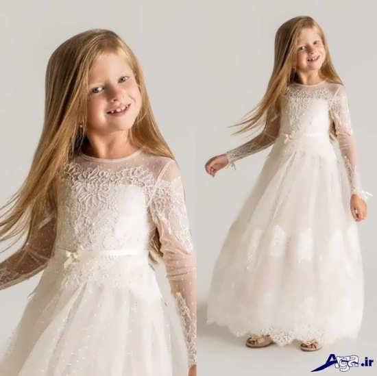 مدل پیراهن های عروس بچه گانه