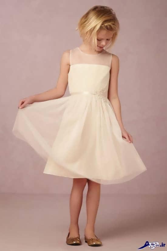 مدل لباس عروس بچگانه زیبا