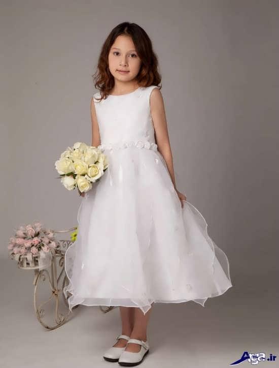 جذاب ترین مدل لباس عروس بچه گانه