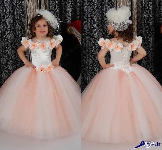 انواع پیراهن عروس بچه گانه زیبا