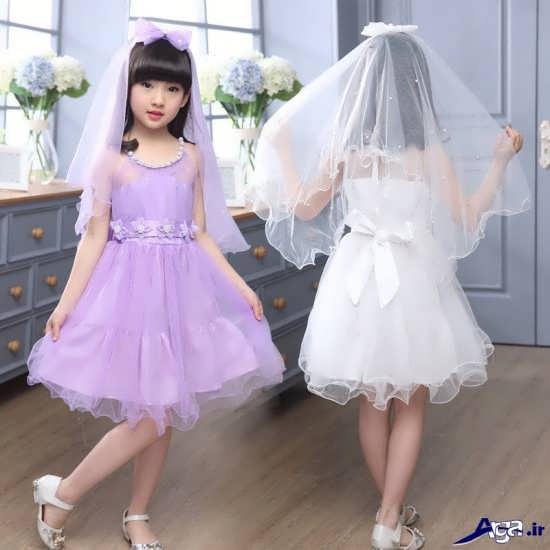مدل پیراهن عروس بچه گانه بسیار زیبا و جذاب